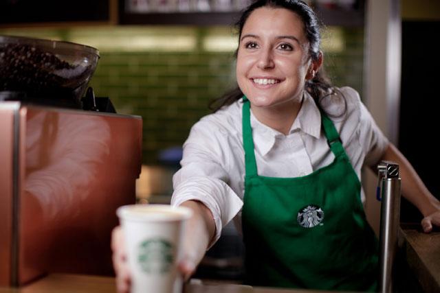 Starbucks Serving The World