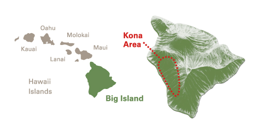 kona coffee region