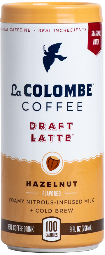 La Colombe continues its promise of innovation with the launch of its seasonal Hazelnut Draft Latte.