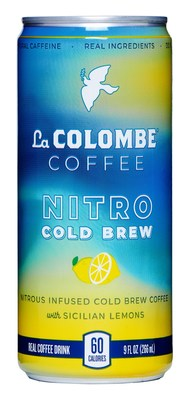 La Colombe continues its promise of innovation with the launch of Nitro Cold Brew with Lemon.