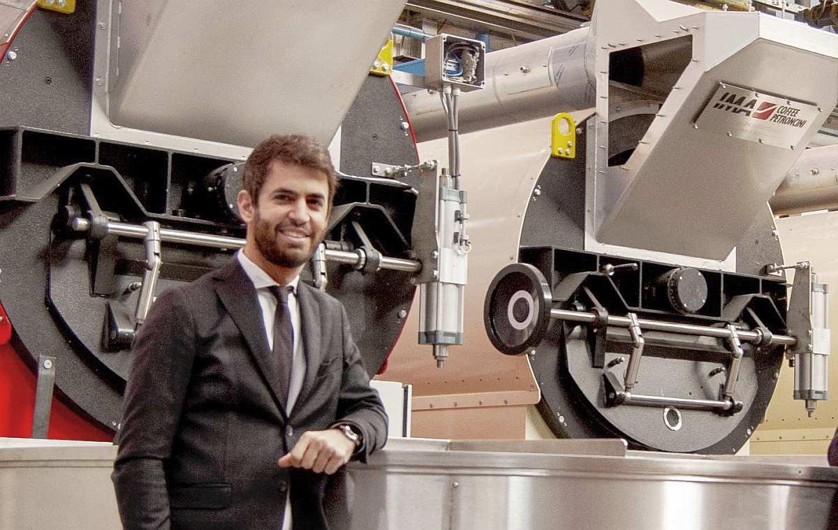 Nicola Panzani, IMA Coffee sales manager and IMA Coffee Petroncini CEO