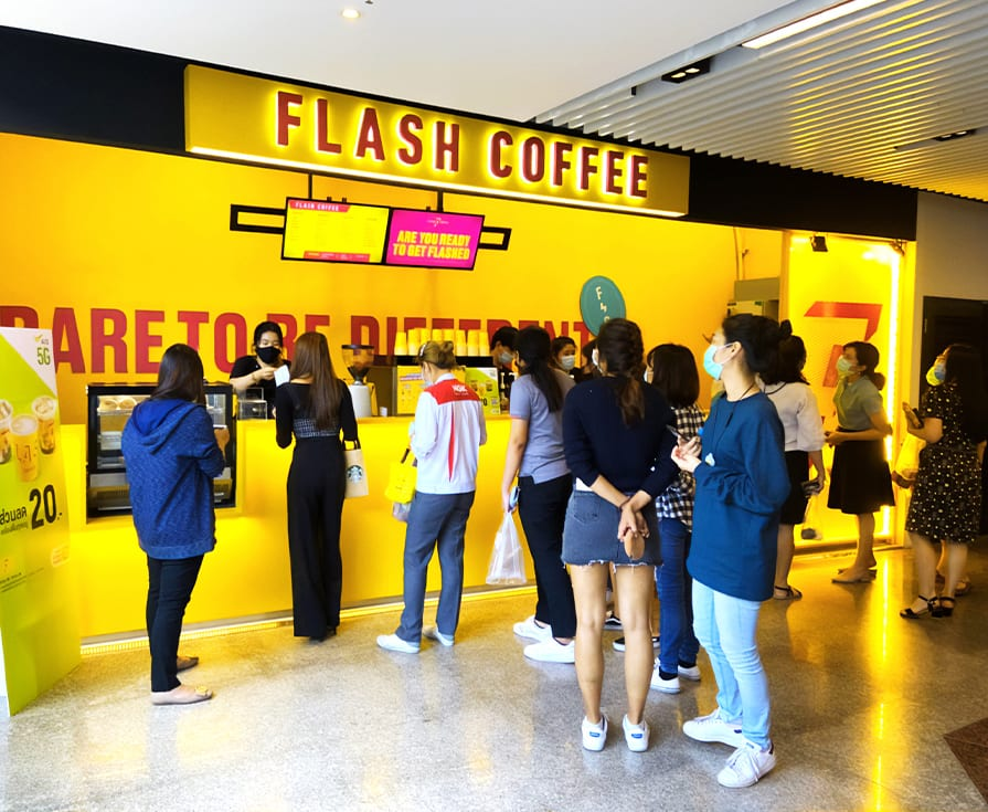 Flash Coffee Thailand
