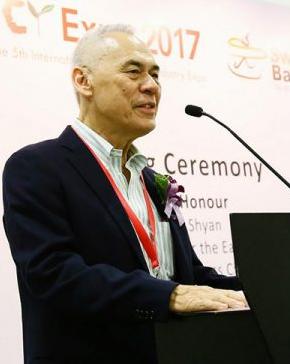 Victor Mah, President of Singapore Coffee Association