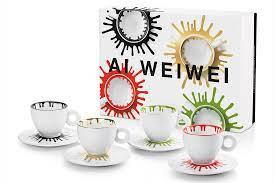 ai wei wei illycafe cups