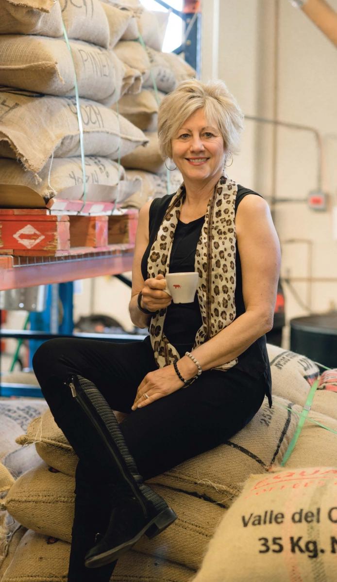Equator co-founder Helen Russell