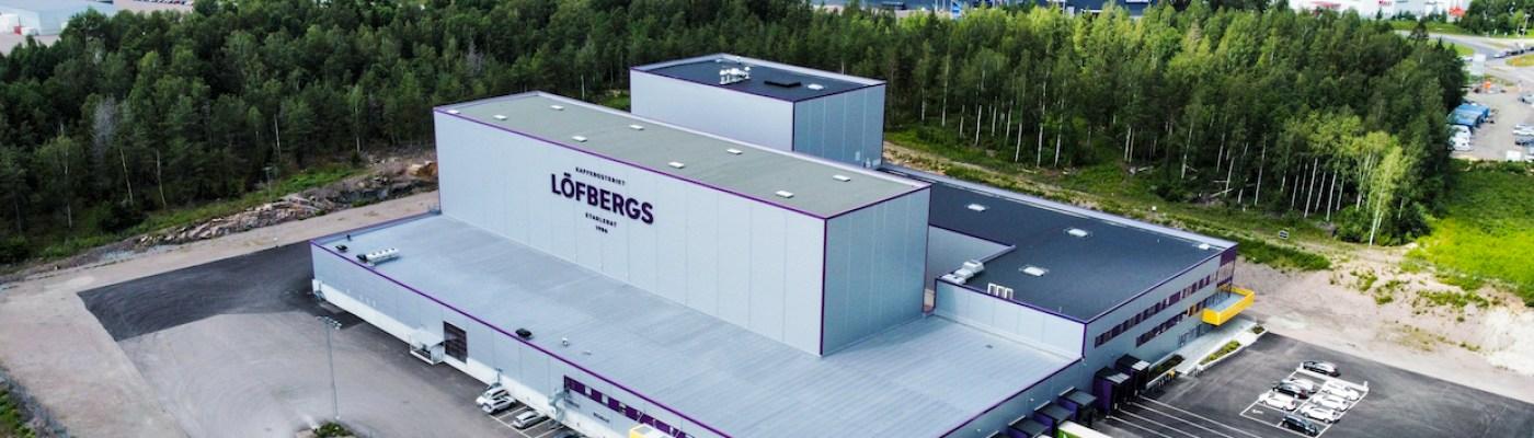 Löfbergs new coffee roastery